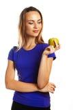 Ein Apfel ein Tag hält Doktor weg Lizenzfreie Stockbilder