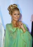 Ein arabisches Paris Hilton bei der BFF Konferenz in Dubai Lizenzfreies Stockfoto