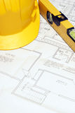 Wohnungs-Pläne Stockbild