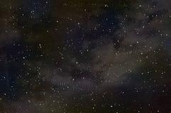 Ein Asteroid prallt weg von einem Planeten auf, der brennende Zerstörung verursacht vektor abbildung