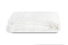 Ein aufgefüllter Matratzenschoner in der Baumwolle handgemacht in Italien Lizenzfreie Stockfotografie