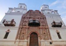 Ein Auftrag San Xavier del Bac, Tucson Lizenzfreies Stockbild