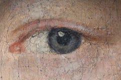 Ein Auge Stockfoto