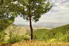 Ein Ausblick beim Galiläa Stockfoto