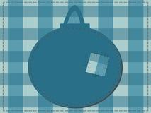 Ein Ausschnitt eines Weihnachtsflitters Lizenzfreies Stockfoto