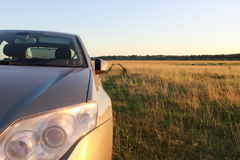Ein Auto Lizenzfreie Stockfotos