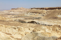 Ein Avdat Canyon. Israel. Royalty Free Stock Photo