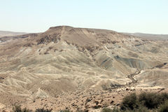 Ein Avdat Canyon. Israel. Royalty Free Stock Photos
