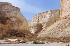 Ein Avdat gorge. stock image