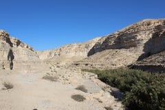 Ein Avdat, Israel national trail Stock Image