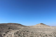 Ein Avdat, Israel national trail Stock Images