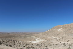 Ein Avdat, Israel national trail Royalty Free Stock Photos