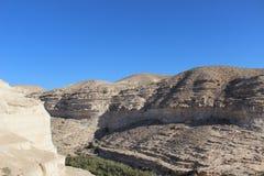 Ein Avdat, nationale Spur Israels Lizenzfreie Stockbilder