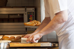 Ein Bäcker Lizenzfreies Stockbild