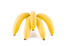 Ein Bündel Bananen Stockfotos