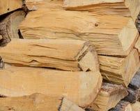 Ein Bündel Brennholz Lizenzfreie Stockbilder