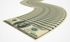 Ein Bündel Geld Lizenzfreie Stockbilder