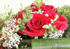 Ein Bündel Rosen stockfoto