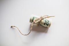 Ein Bündel US-Dollars Stockbilder