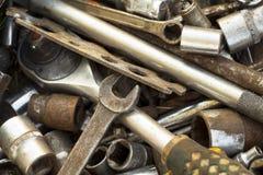 Ein Bündel Werkzeuge Stockbilder