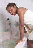 Ein Bad haben lizenzfreie stockfotografie