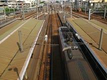 Ein Bahnhof Lizenzfreies Stockfoto