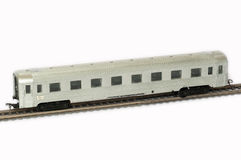 Ein Bahnmodellbauer Stockbilder