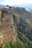 Ein Balkon auf einem Felsen des Tages Lizenzfreie Stockbilder