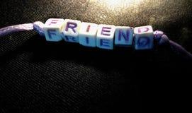 Ein Band der Freundschaft stockfoto