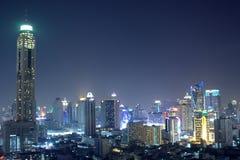 Ein Bangkok-Nachtlicht Stockfotos