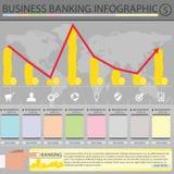 Ein Bankkonto haben infographic Lizenzfreie Stockfotos