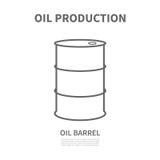 Ein Barrel Erdöl Stockbilder