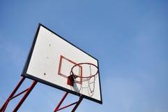 Ein Basketballfeld Lizenzfreie Stockfotografie