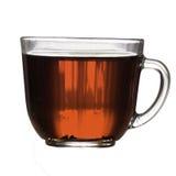 Ein Becher schwarzer Tee Lizenzfreies Stockbild