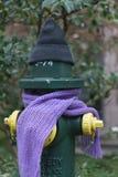 Ein Beitrag kleidete richtig für den Winter in Seattle, Washington 15 an Lizenzfreies Stockbild