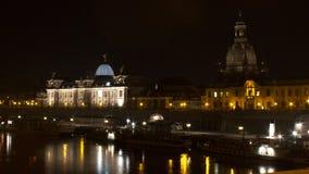 Ein berühmter Markstein in Dresden Stockfotos