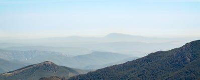Ein Bergblick stockfotos