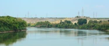Ein beschlagnahmter See in Vietnam Stockbild