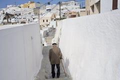 Ein Besuch in der Trauminsel von Santorini Griechenland lizenzfreie stockbilder
