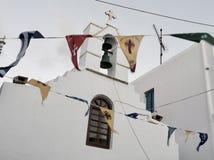 Ein Besuch in Mykonos, Griechenland stockfoto