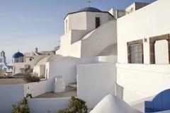 Ein Besuch in Santorini Griechenland stockfoto