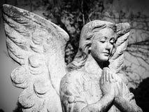 Ein betender Engel Stockfotos