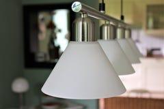 Ein Bild einer Lampe - Innenraum, elektrisch lizenzfreie stockfotos