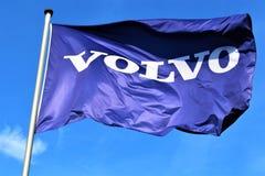 Ein Bild eines Volvo-Logos - Hameln/Deutschland - 07/18/2017 Lizenzfreie Stockfotografie