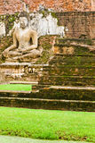 Ein Bild von Buddha in Sukhothai historischem Park Lizenzfreies Stockfoto