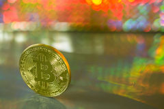 Ein bitcoin Stockfotos