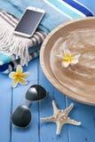 Badekurort-tropische Reise-Ferien Lizenzfreies Stockfoto