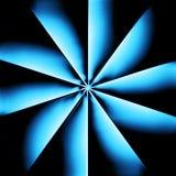 Ein blauer Kühler Stockbilder