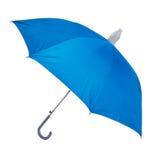 Ein blauer Regenschirm Lizenzfreie Stockfotografie