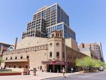 Ein Blick auf das Orpheum Theater, Phoenix, Arizona Lizenzfreies Stockfoto